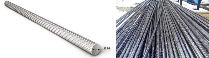 Армирующие прутья 14 мм