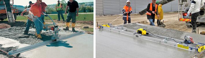 Виброустановка для бетонной смеси