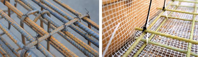 Вязка арматурных прутьев