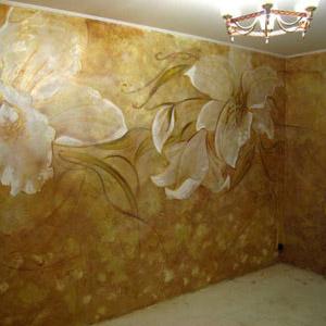 Декоративная отделка стен своими руками - видео и фото в интерьере