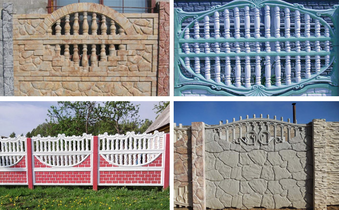 Декоративные ограды для дачного участка