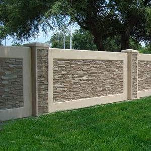 Декоративные ограждения из бетона