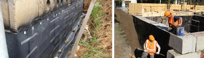 Изоляция бетонных сооружений