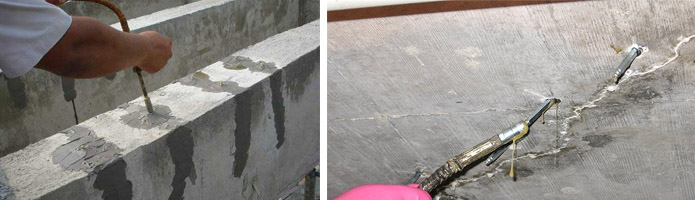 Инъекционная защита бетонных сооружений