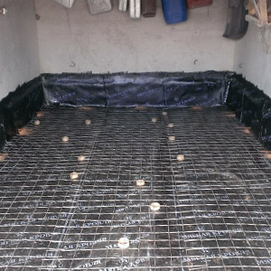 Как залить бетоном пол в гараже