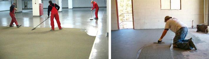 Как защитить бетонный пол
