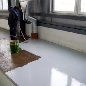 Как правильно подобрать краску для пола из бетона
