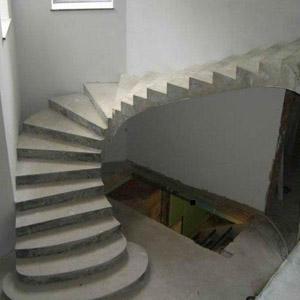 Как самостоятельно сделать лестницу из бетона, ведущую на второй этаж