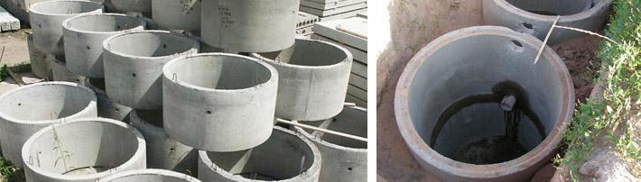Размеры бетонных колец для канализации