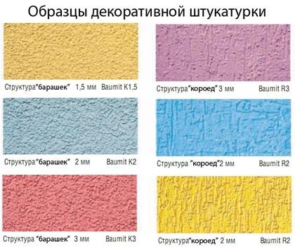 Образцы силиконовых смесей