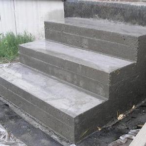 Обустройство бетонного крыльца своими руками