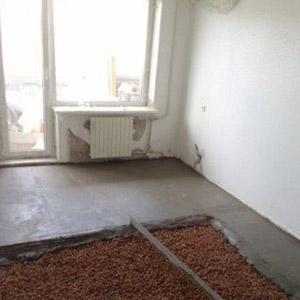 Обустройство полов из бетона по грунту в загородном доме