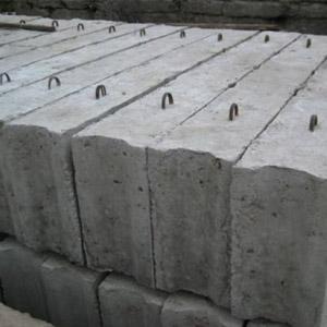 Особенности блоков из бетона для фундамента, габариты и цена