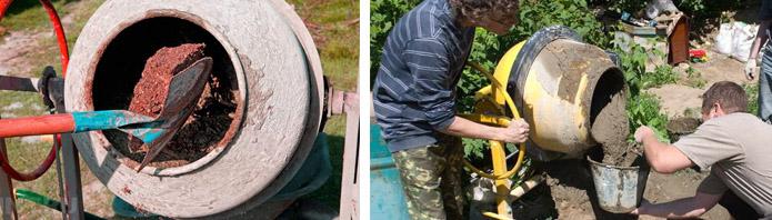 Особенности применение бетоносмесителя