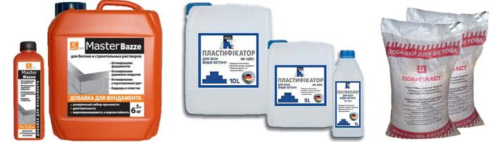 Пластификаторы для бетонных составов