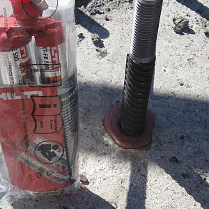 Применение анкеров химического типа для бетона