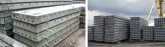 Применение бетонных плит