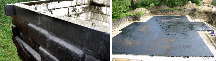 Применение гидроизоляционных составов