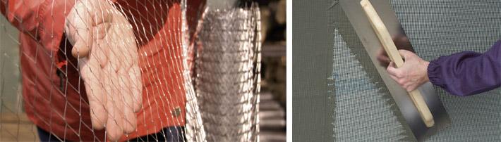 Применение металлических сетчатых изделий