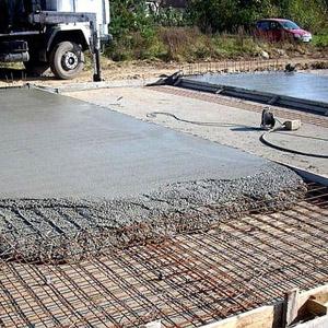 Пропорции компонентов бетона для заливки фундамента