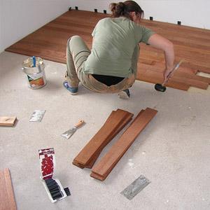 Самостоятельный монтаж ламината на пол из бетона с подложкой