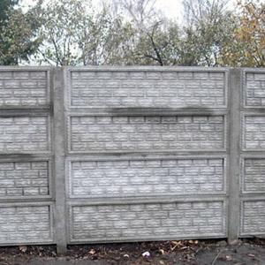 Секционные ограждения из бетона - особенности и цены