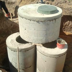 Сколько стоит установка бетонного септика под ключ