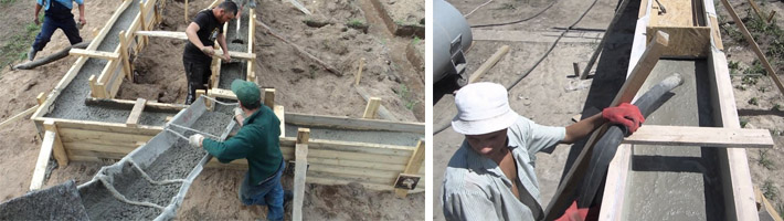 Способы бетонирования