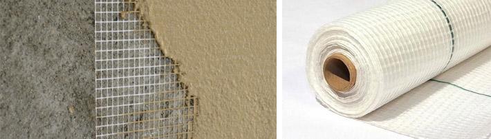 Стекловолоконные сетчатые материалы