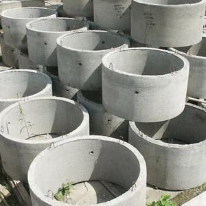 Схема установки бетонных колодезных колец