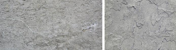 Текстура оштукатуренных поверхностей