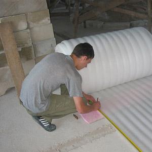 Теплоизоляция для бетонного пола