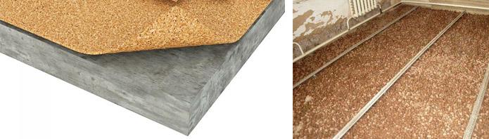 Утеплители для бетонного основания