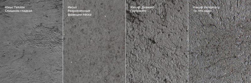 Цементно-известковые составы разных марок