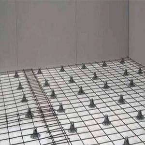 Армирующая сетка для усиления пола из бетона