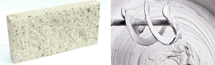 Белая цементтная смесь