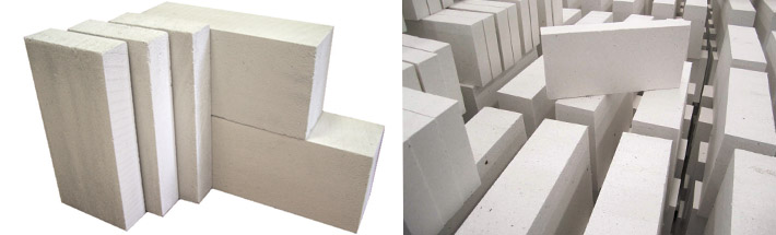 Блоки из газосиликата