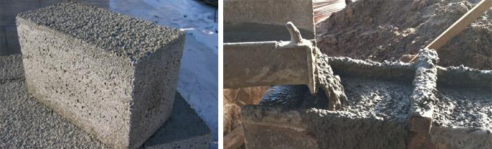 Вес кубометра бетонного раствора