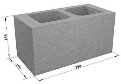 Габариты строительного элемента