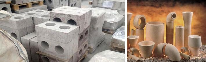 Жаростойкие бетонные растворы