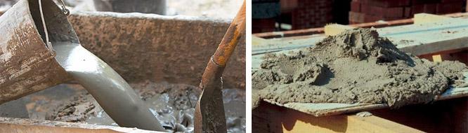 Изготовление бетонного раствора