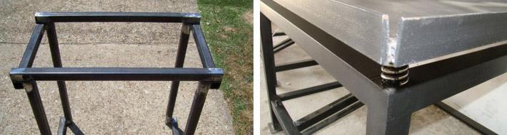 Изготовление вибрирующего стола