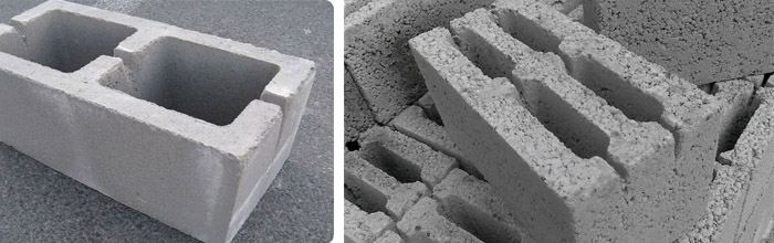 Изделия из бетона и с добавлением керамзита