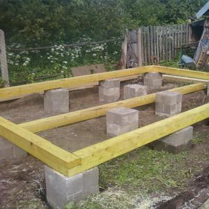 Инструкция по сооружению фундамента из блоков размером 20х20х40