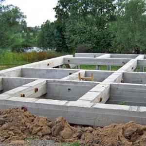 Как выбрать фундамент для газобетонного дома