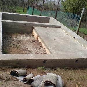 Как самостоятельно возвести фундамент для бани размером 3х4 м