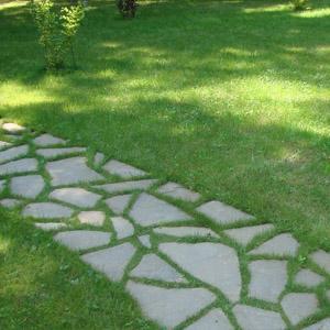 Как сделать бетонную дорожку для сада на даче