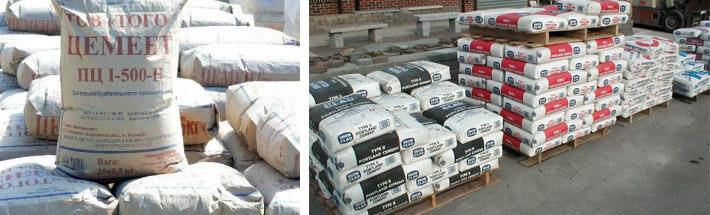 Как хранить цементные составы