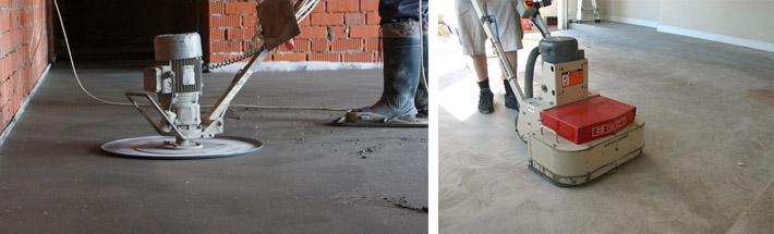 Как шлифовать бетонные поверхности