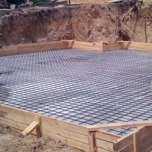 Количество бетона, необходимое для обустройства фундамента
